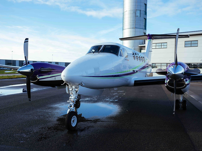 Ortac King Air Private Flight Charter Je