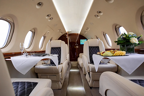 Private jet luxury Ortac travel