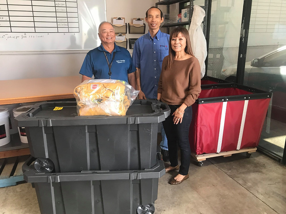 HAWAII PPE partners with Hawaiian Air