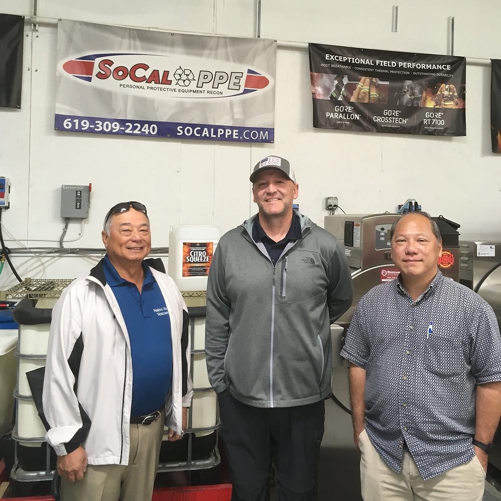 Gil Tam, Ken Mogi, and Scott Estrada