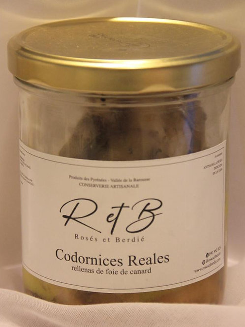 Codornices reales (570gr)