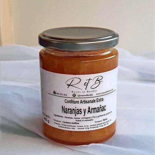 Mermelada de Naranja y Armañac (110gr)