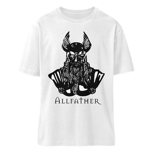 Odin - Viking - Design Schwarz  - Organic Oversized Shirt ST/ST