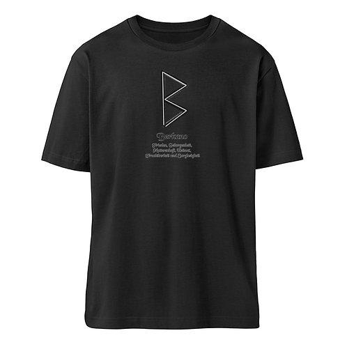 Rune - Berkano - Viking and old Gods  - Organic Oversized Shirt ST/ST