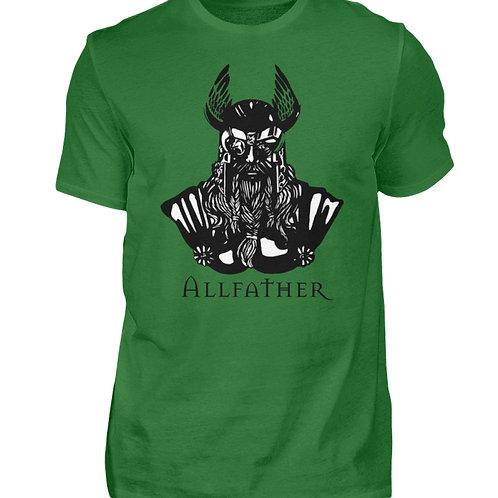 Odin - Viking - Design Schwarz  - Herren Shirt