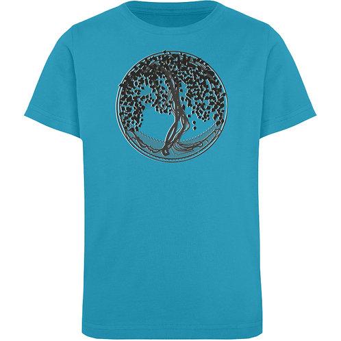 Yggdrasil - Der Weltenbaum  - Kinder Organic T-Shirt