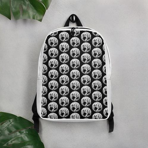 Minimalist Backpack - Rucksack mit Yggdrasil Design