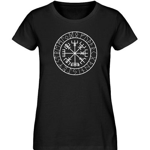 Vegvisir - Viking - Kompass - Runen  - Damen Premium Organic Shirt