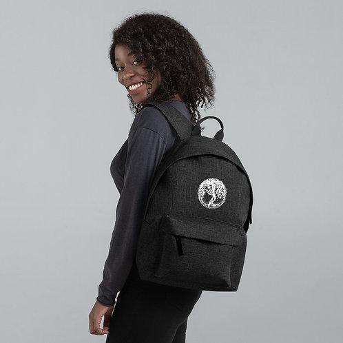 Embroidered Backpack - Rucksack mit Yggdrasil Druck