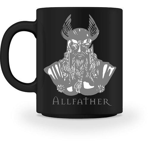 Odin - Viking - Design Grau  - Tasse
