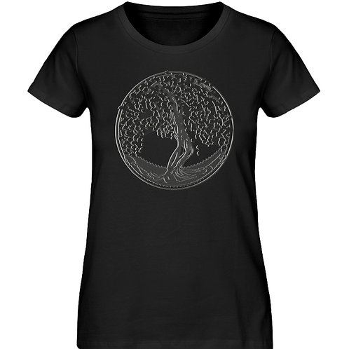 Yggdrasil - Der Weltenbaum  - Damen Premium Organic Shirt