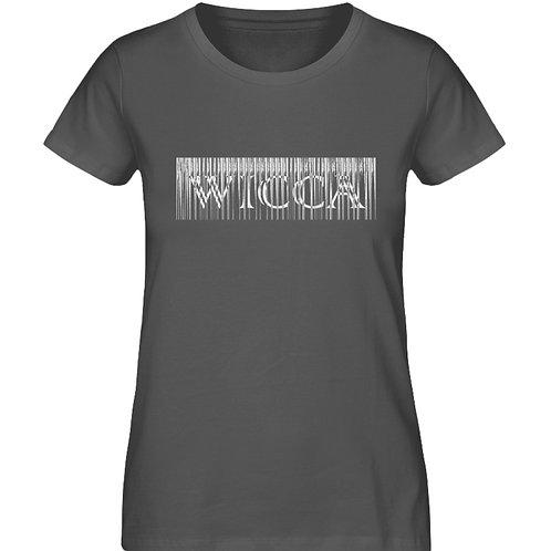 Wicca Slogan für alle Hexen und Magieliebhaber  - Damen Premium Organic Shirt