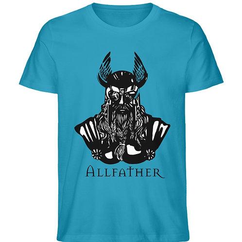 Odin - Viking - Design Schwarz  - Herren Premium Organic Shirt