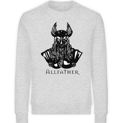 Odin - Viking - Design Schwarz  - Unisex Organic Sweatshirt