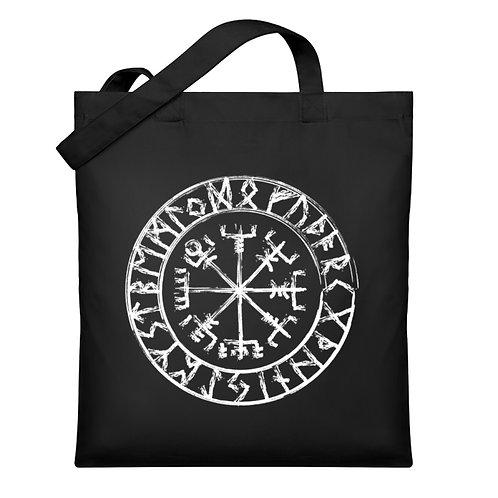Vegvisir - Viking - Kompass - Runen  - Organic Jutebeutel