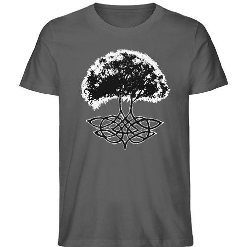 Yggdrasil - Die Weltenesche  - Herren Premium Organic Shirt
