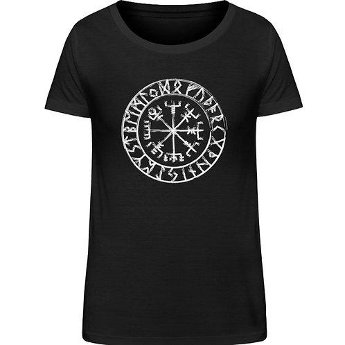 Vegvisir - Viking - Kompass - Runen  - Damen Organic Shirt