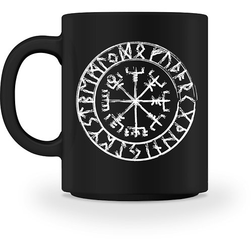 Vegvisir - Viking - Kompass - Runen  - Tasse