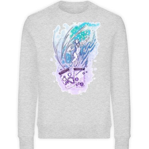 Wicca - Sternzeichen Wassermann  - Unisex Organic Sweatshirt