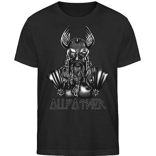 Odin - Vikings - Runen - Design Schwarz  - Herren Organic Shirt