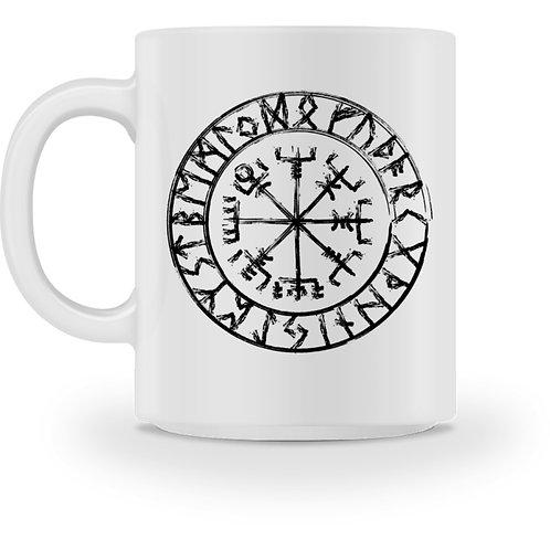 Vegvisir - Viking - Kompass  - Tasse