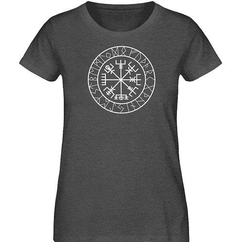 Vegvisir - Viking - Kompass - Runen  - Damen Organic Melange Shirt