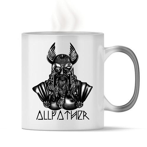 Odin - Vikings - Runen - Design Schwarz  - Magic - Tasse