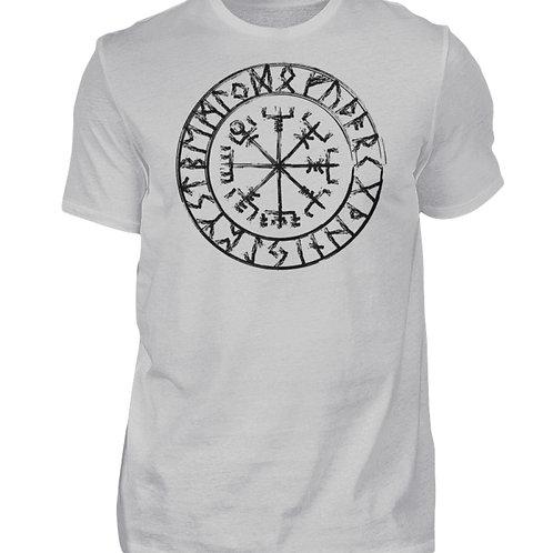 Vegvisir - Viking - Kompass  - Herren Shirt