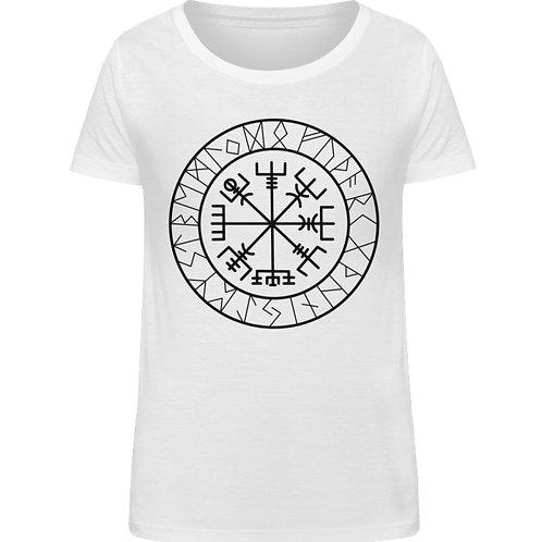 Vegvisir - Viking - Kompass  - Damen Organic Shirt