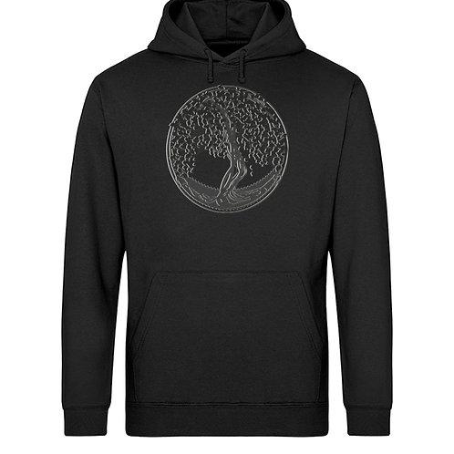 Yggdrasil - Der Weltenbaum  - Unisex Organic Hoodie