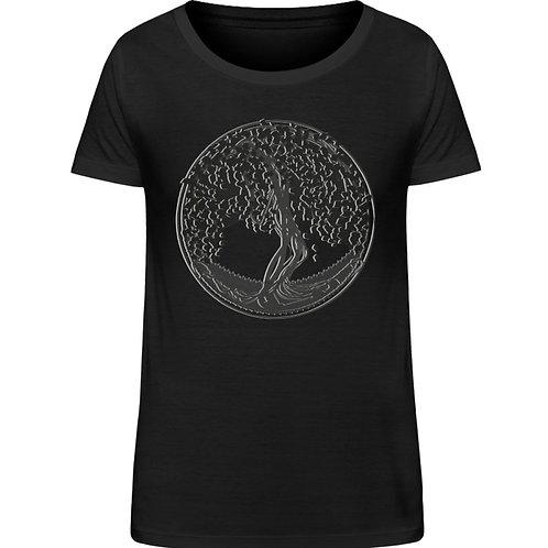 Yggdrasil - Der Weltenbaum  - Damen Organic Shirt