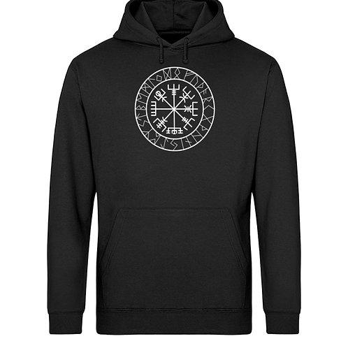 Vegvisir - Viking - Kompass - Runen  - Unisex Organic Hoodie