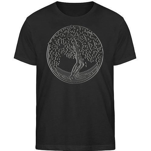 Yggdrasil - Der Weltenbaum  - Herren Organic Shirt