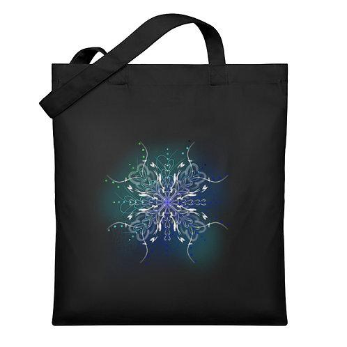 zauberhaftes Fairytail Mandala  - Organic Jutebeutel