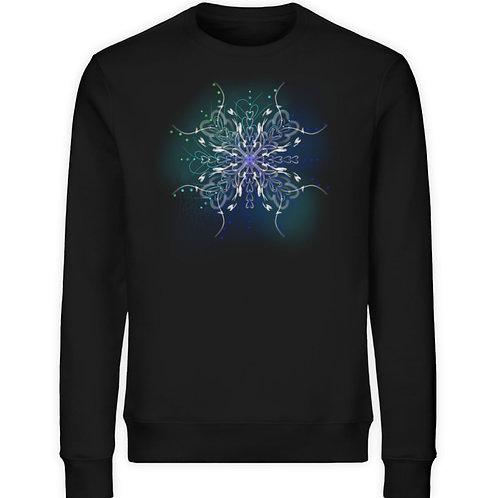 zauberhaftes Fairytail Mandala  - Unisex Organic Sweatshirt