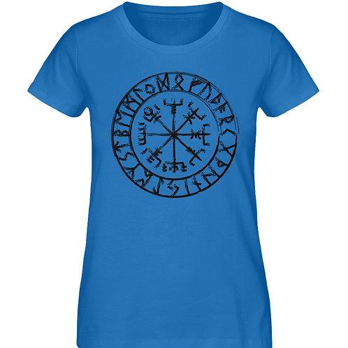 Vegvisir - Viking - Kompass  - Damen Premium Organic Shirt