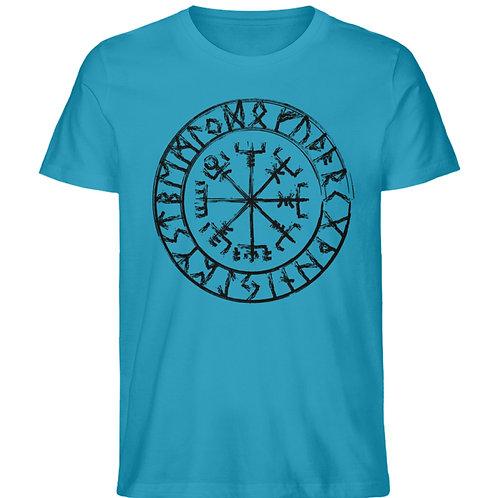 Vegvisir - Viking - Kompass  - Herren Premium Organic Shirt