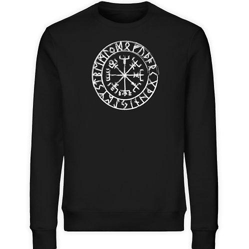 Vegvisir - Viking - Kompass - Runen  - Unisex Organic Sweatshirt