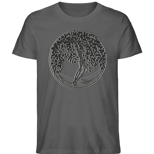 Yggdrasil - Der Weltenbaum  - Herren Premium Organic Shirt