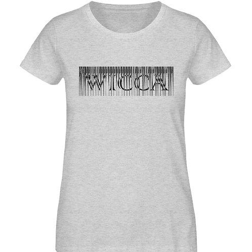 Wicca Slogan für alle Hexen und Magieliebhaber  - Damen Organic Melange Shirt