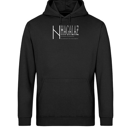 Rune - Hagalaz - Viking - Schriftzug  - Unisex Organic Hoodie