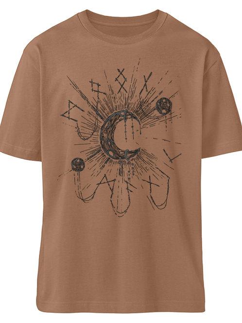 WICCA - MOON MAGIC  - Organic Oversized Shirt ST/ST