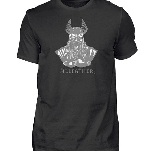 Odin - Viking - Design Grau  - Herren Shirt