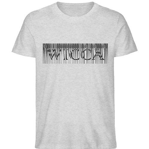 Wicca Slogan für alle Hexen und Magieliebhaber  - Herren Organic Melange Shirt