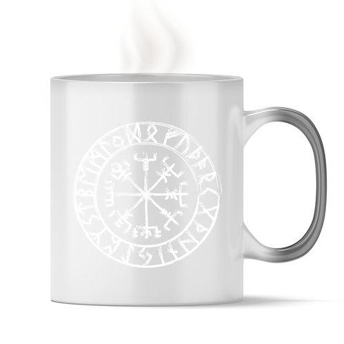 Vegvisir - Viking - Kompass - Runen  - Magic - Tasse