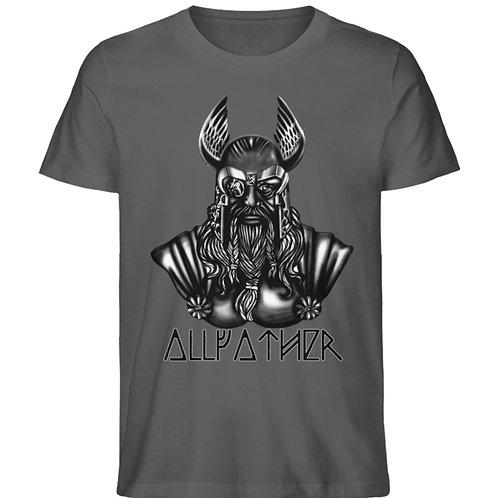 Odin - Vikings - Runen - Design Schwarz  - Herren Premium Organic Shirt