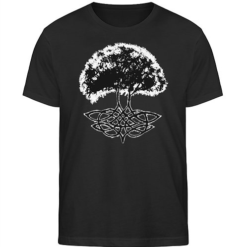 Yggdrasil - Die Weltenesche  - Herren Organic Shirt
