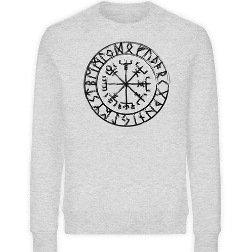 Vegvisir - Viking - Kompass  - Unisex Organic Sweatshirt