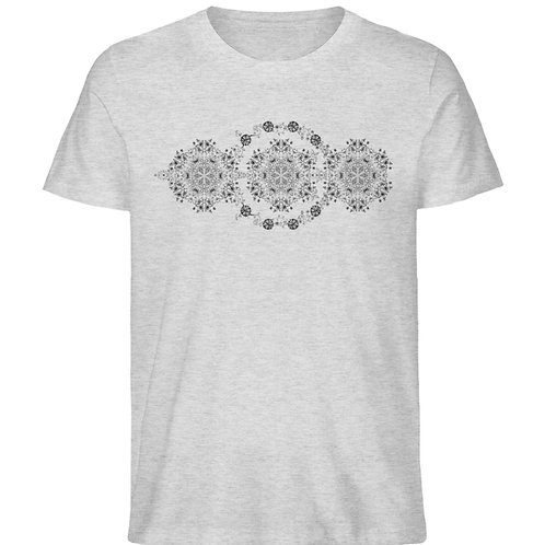 Blumenambiente  - Herren Organic Melange Shirt