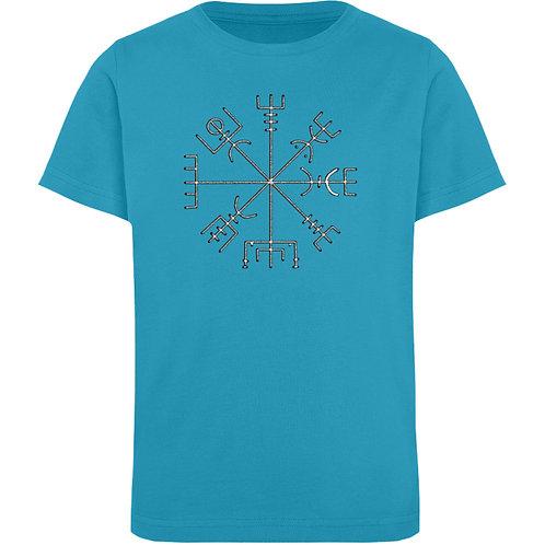 Vegvisir - Runen - Kompass - Viking   - Kinder Organic T-Shirt